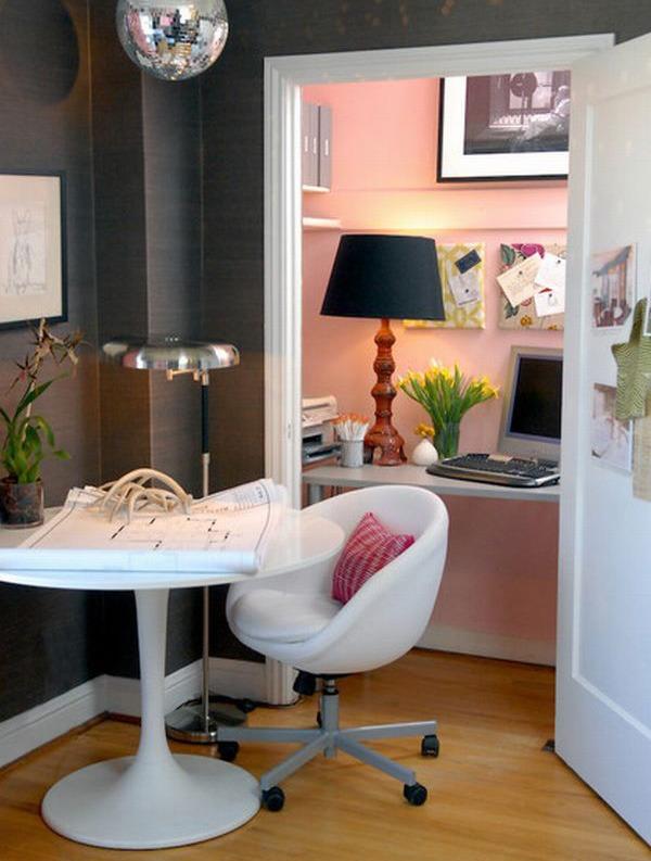 Pink Hidden Office