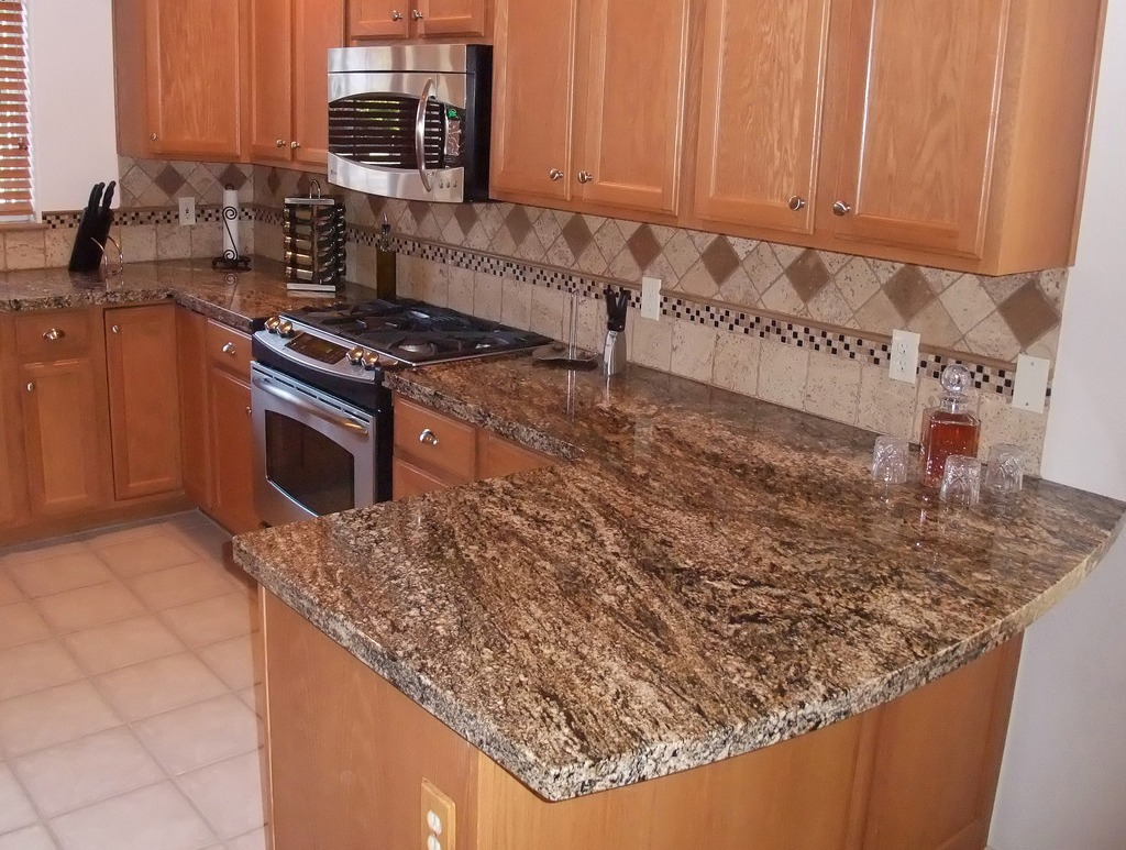 Stormy Night Granite Countertop